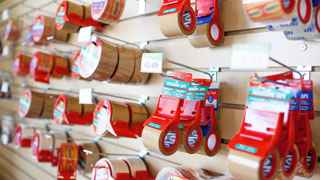 Photo of packing supplies at Storage Post self storage