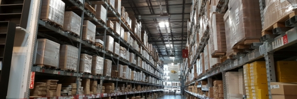 Inventory in a full warehouse