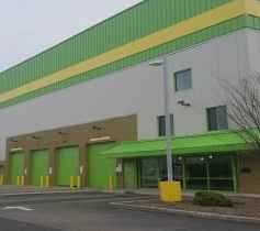 The exterior of the Storage Post Ozone Park self-storage facility