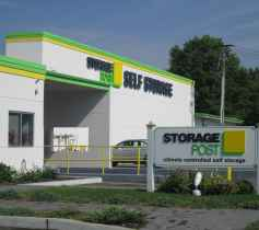 An outside view of the Storage Post Glen Cove store location