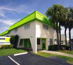 The exterior of the Storage Post Lauderhill self-storage facility