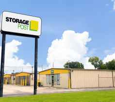The street view of the Storage Post Tom Drive self-storage facility